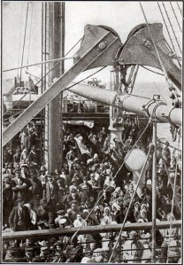1905-ImmigrantsOnDeck