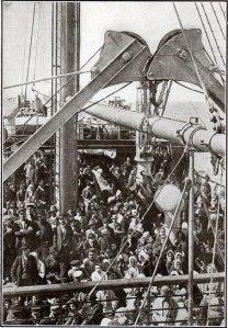 1905-ImmigrantsOnDeck