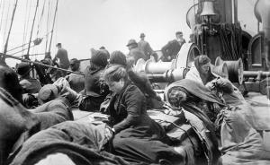 1911 on deck