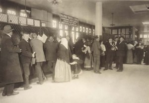 Ellis Island railroad ticket office