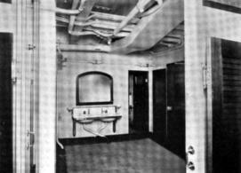Steerage washstand