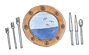place setting art