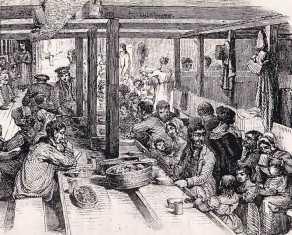 Steerage dining