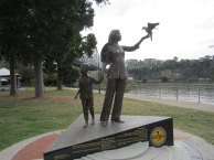 Boat People Memorial in Australia